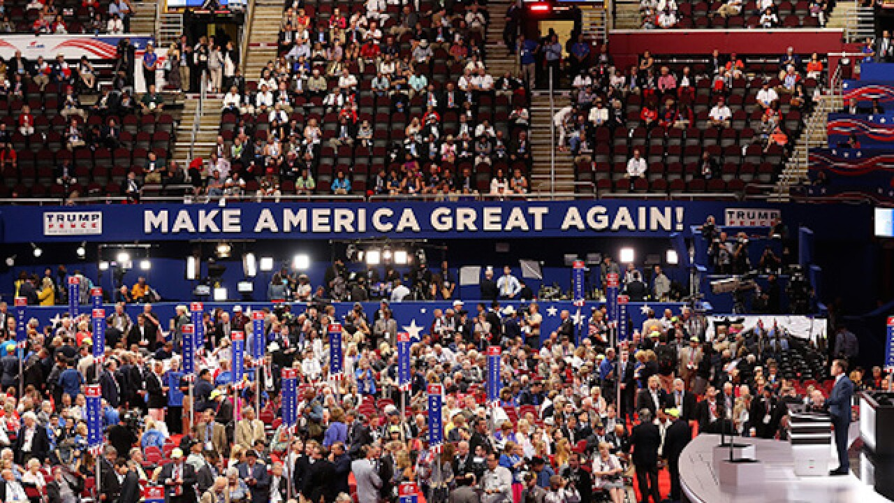 Recap: Day One of the Republican National Convention