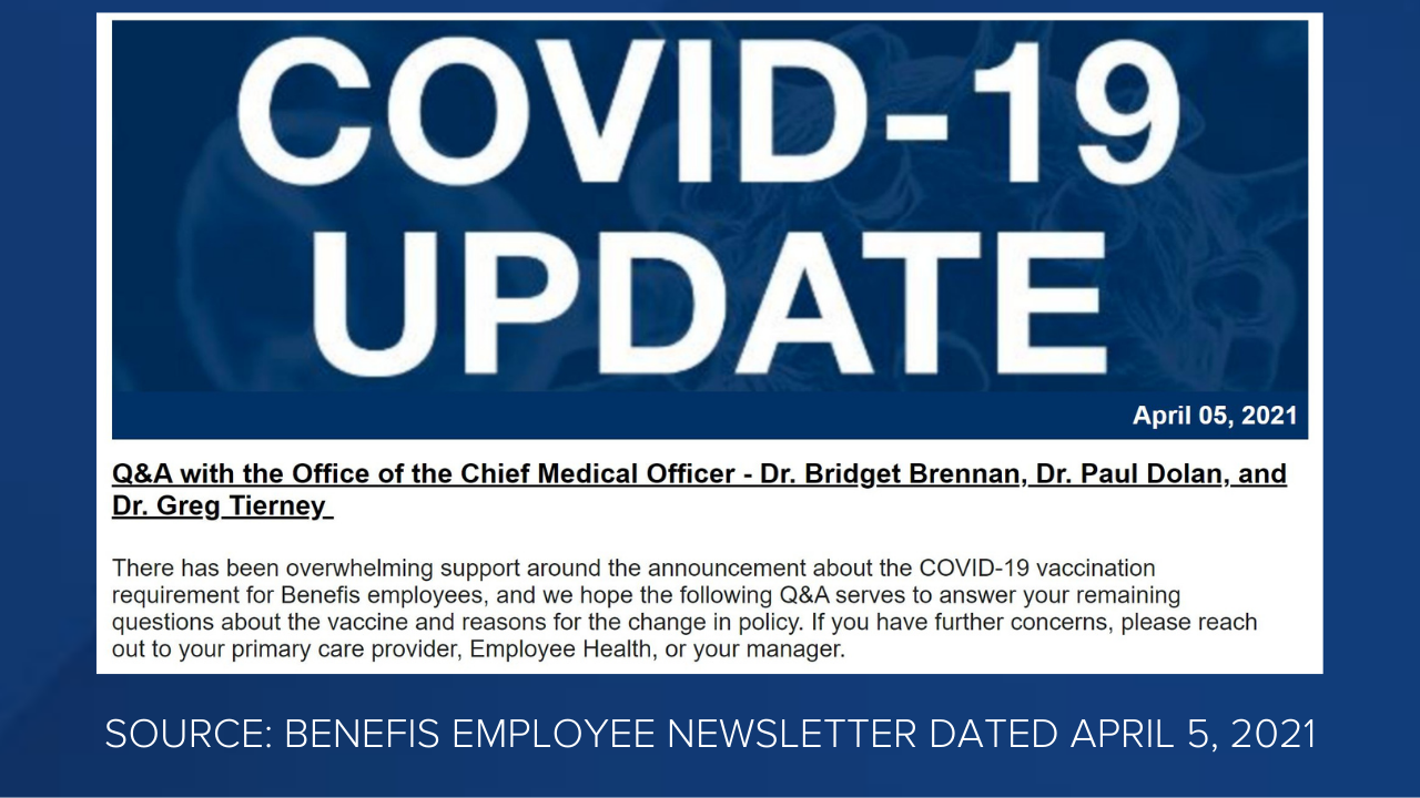 Benefis Health System employee newsletter