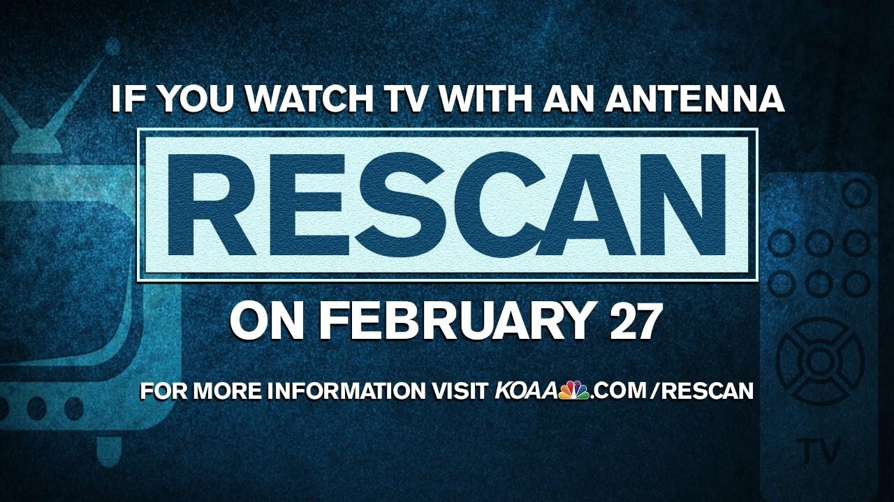 Rescan on February 27