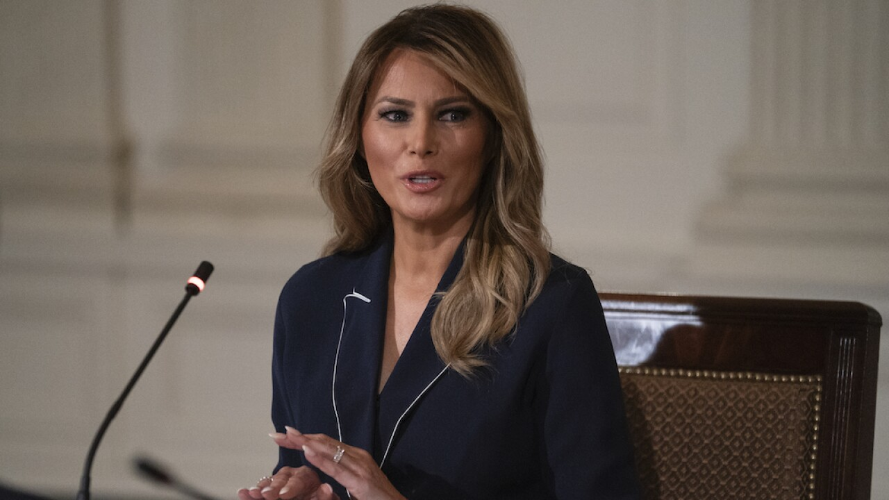 Melania Trump announces plan for White House Rose Garden 'renewal'