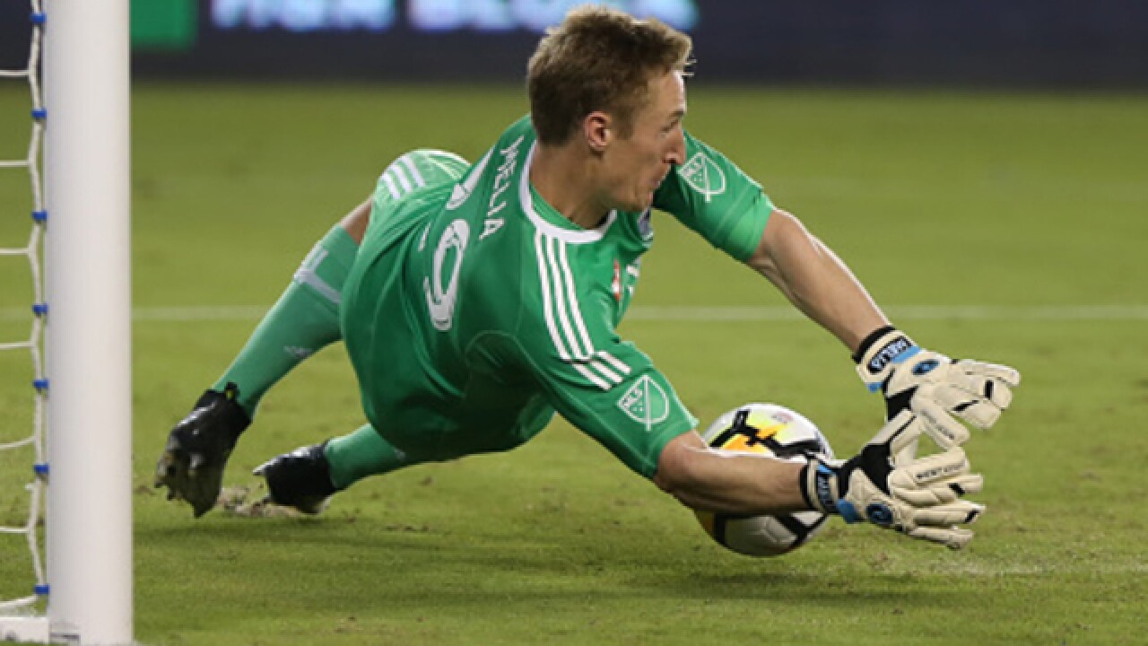 Sporting KC's Tim Melia gives credit to teammates in record-setting performance