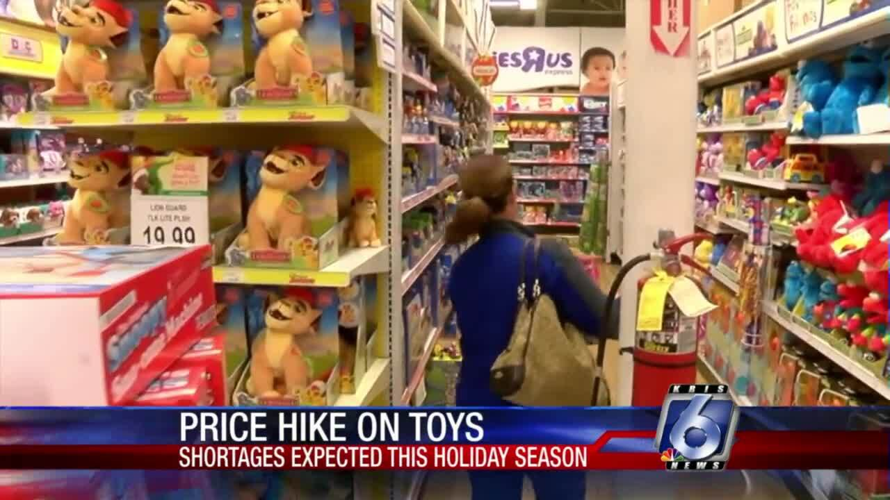DWYM: Get ready for higher toy prices this year