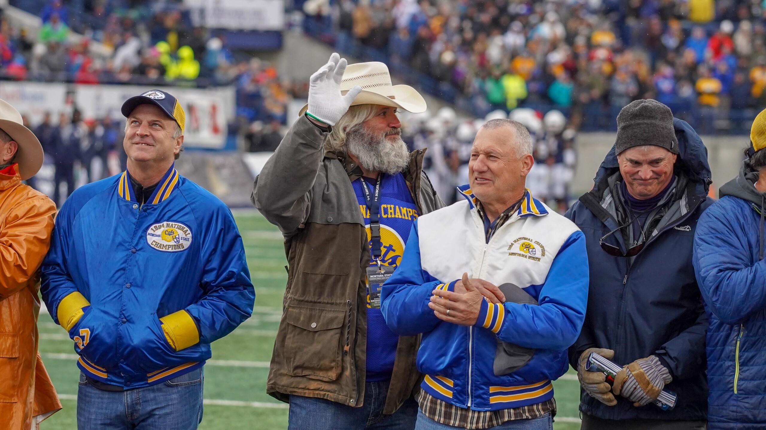 Montana State football 1984 team