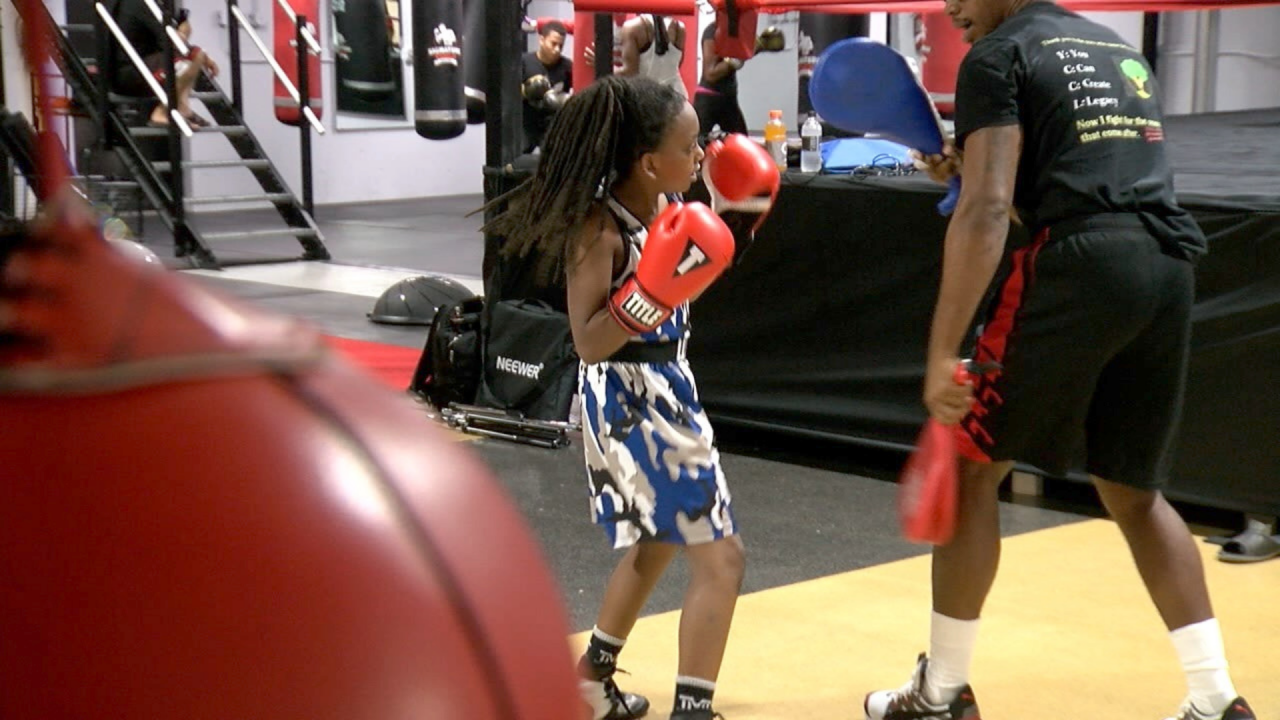 Boxing helps 10-year-old living with autism, ADHD stay focused