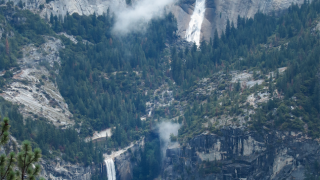 vernal and nevada falls yosemite national park getty images