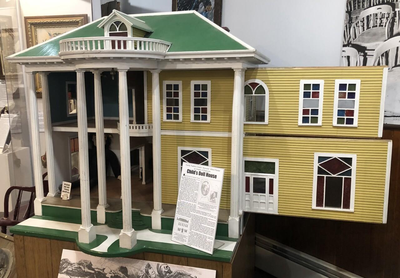Alferd Packer dollhouse_Hinsdale County Museum