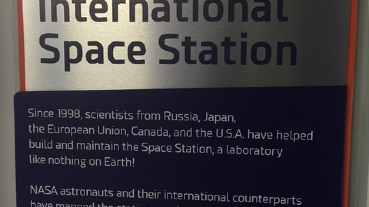 New space exhibit at Children's Museum