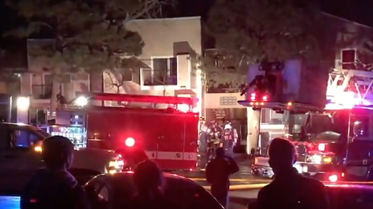 More Than Two Dozen Displaced By Apartment Fire In Lakewood