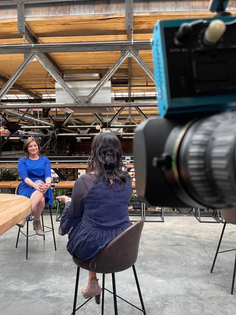 Elizabeth Watts interviews Jessica Daniels