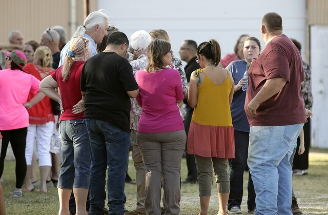 Photos: Authorities respond to deadliest mass shooting in Texas history