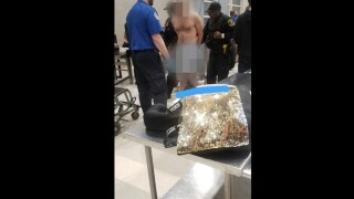 Naked man tries passing through TSA checkpoint at Detroit airport