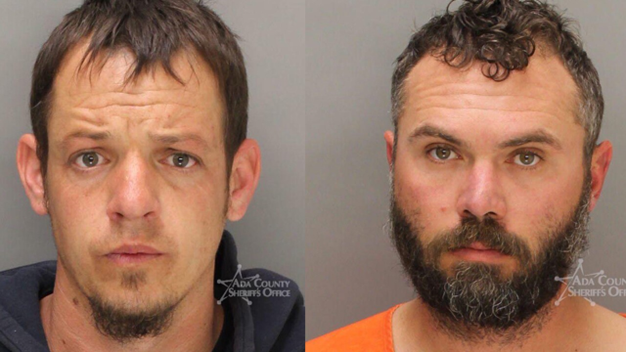 Two arrested in Ada County pot bust