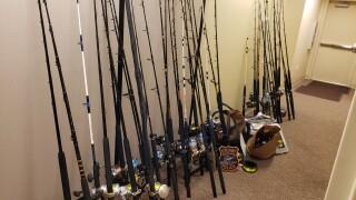 Stolen fishing equipment from Stuart