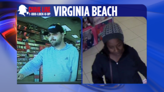 Police in Virginia Beach trying to identify suspects wanted for credit card fraud