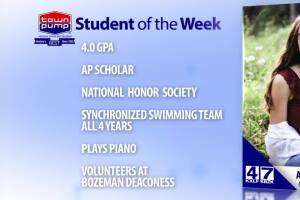Student of the Week: Aurelia Lencioni