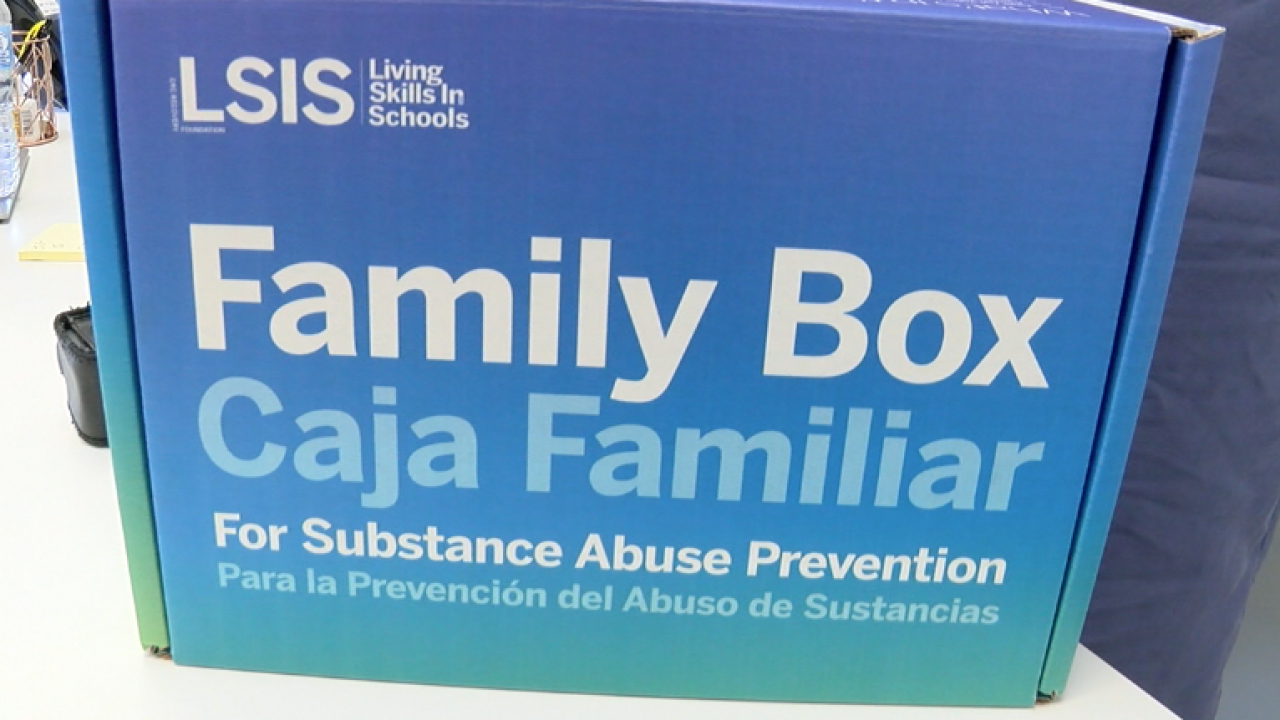 Due to the pandemic, the organization sent out 500 boxes to families in Palm Beach County and plans to send out hundreds more.