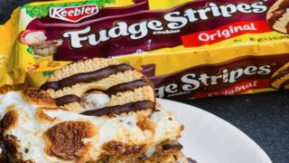 Make These Decadent Keebler S'mores Bars Using Fudge Stripes Cookies