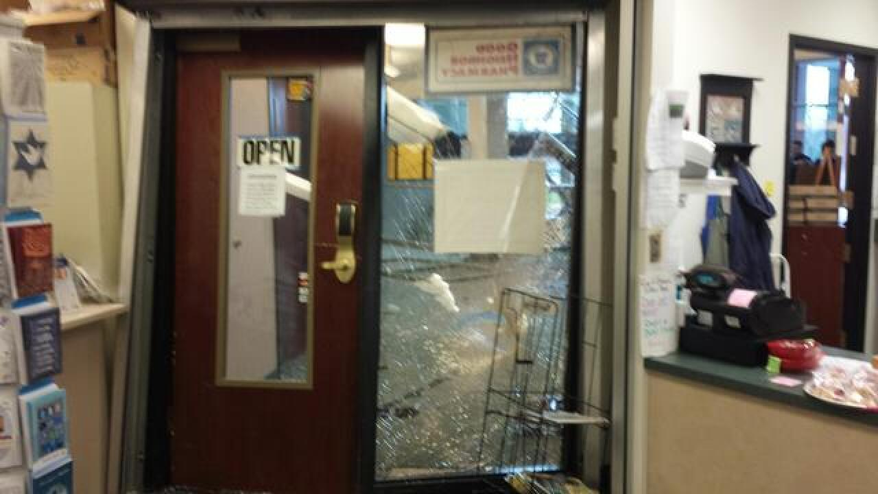 Man drives into Mid-Michigan Physicians building