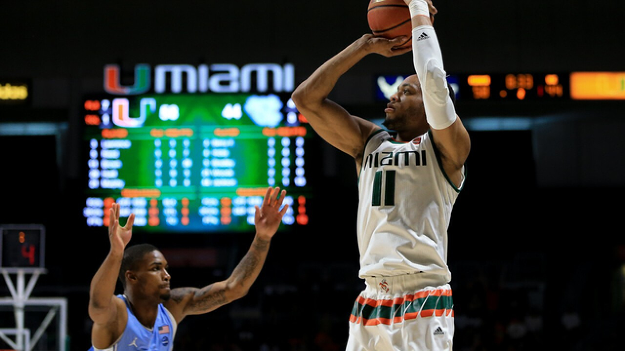 Pistons draft Miami G Bruce Brown with 42nd pick