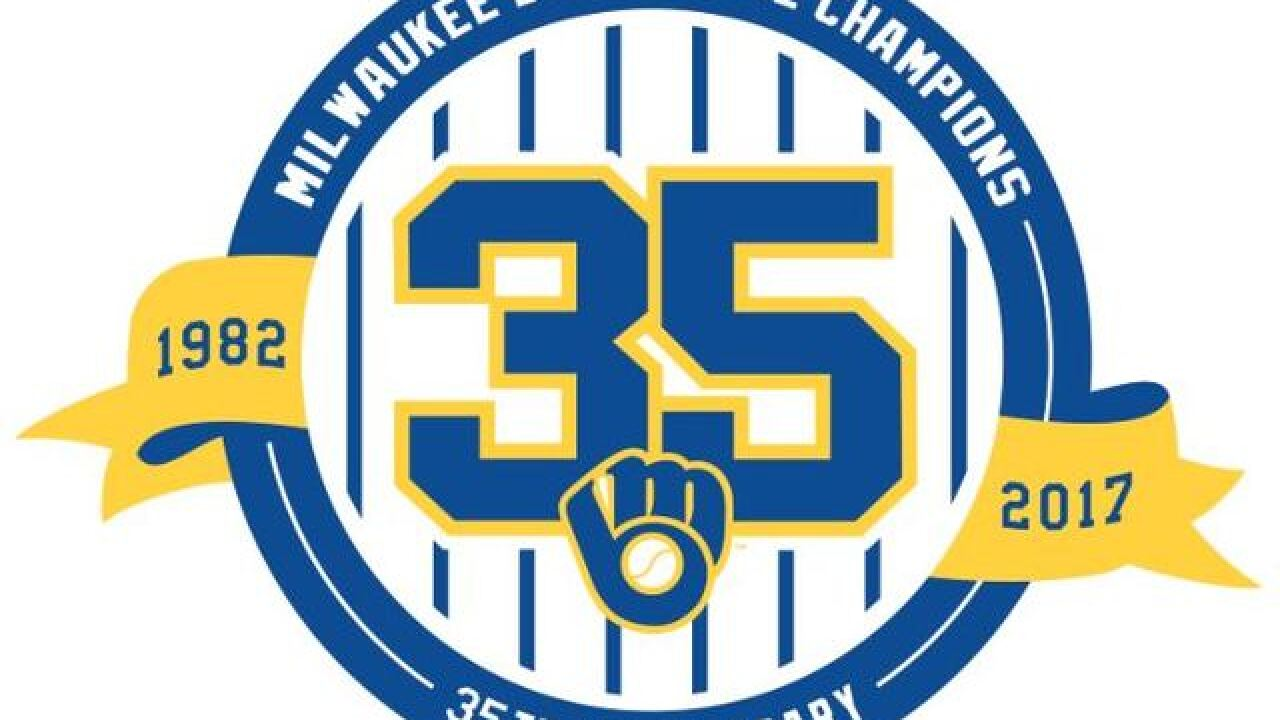 huge discount 350c1 c1f25 Milwaukee Brewers to celebrate 35th anniversary of 1982 AL ...