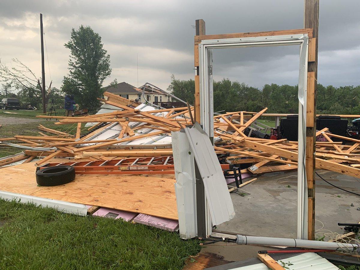 Linwood damage