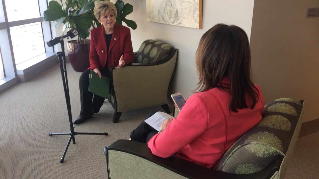 Darcy Spears interviews Las Vegas Mayor Carolyn Goodman