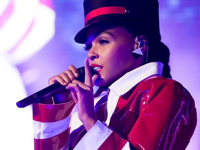 Janelle Monáe performs at Taft Theatre