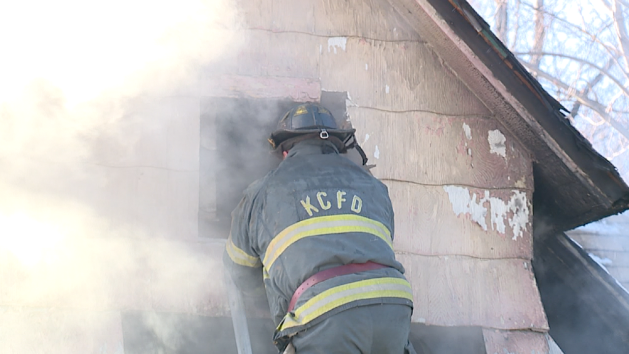 KCFD battled two vacant house fires