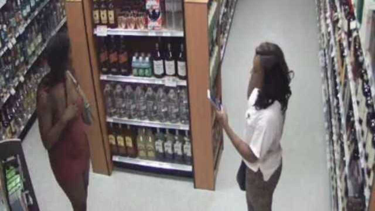 Booze and designer clothes thefts reported