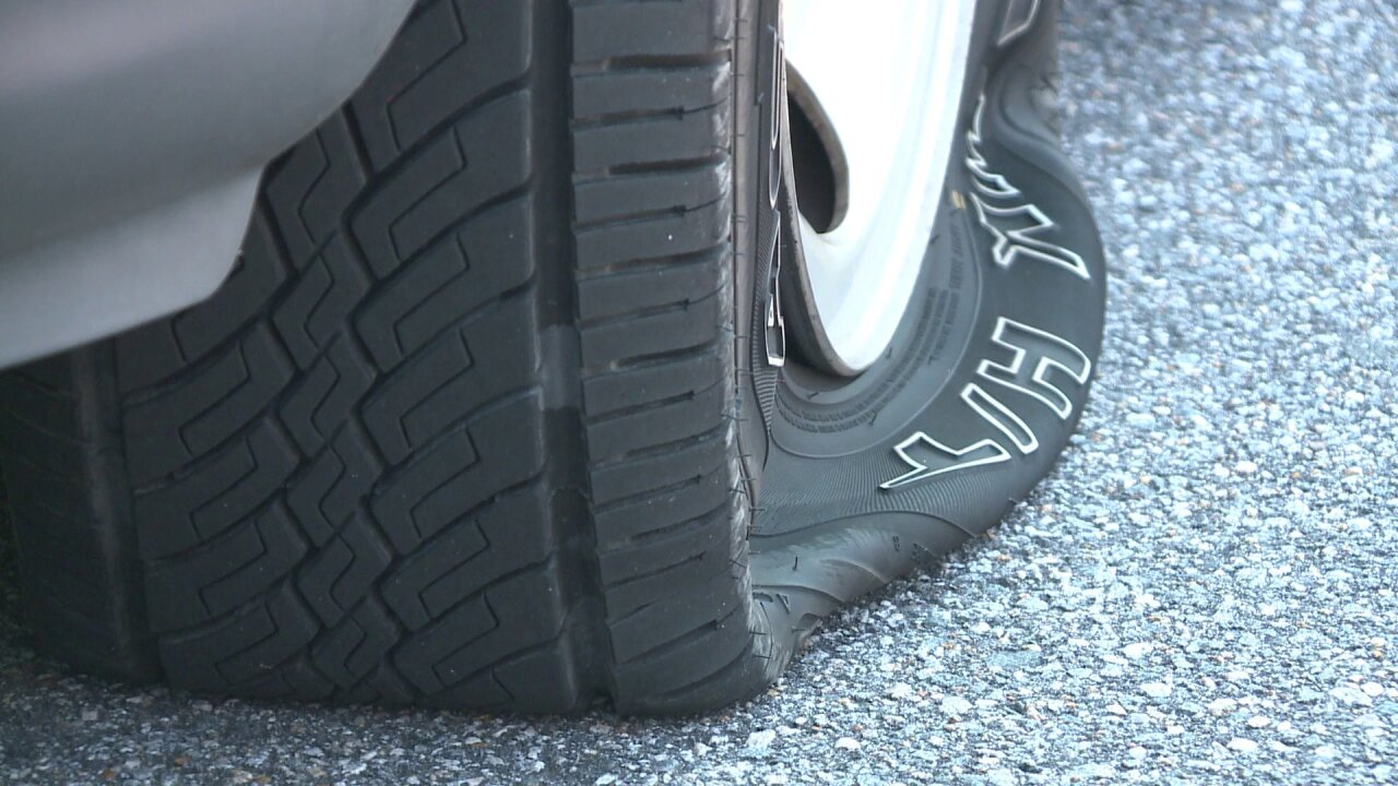Multiple tires slashed along Norfolk street; cops looking for suspects