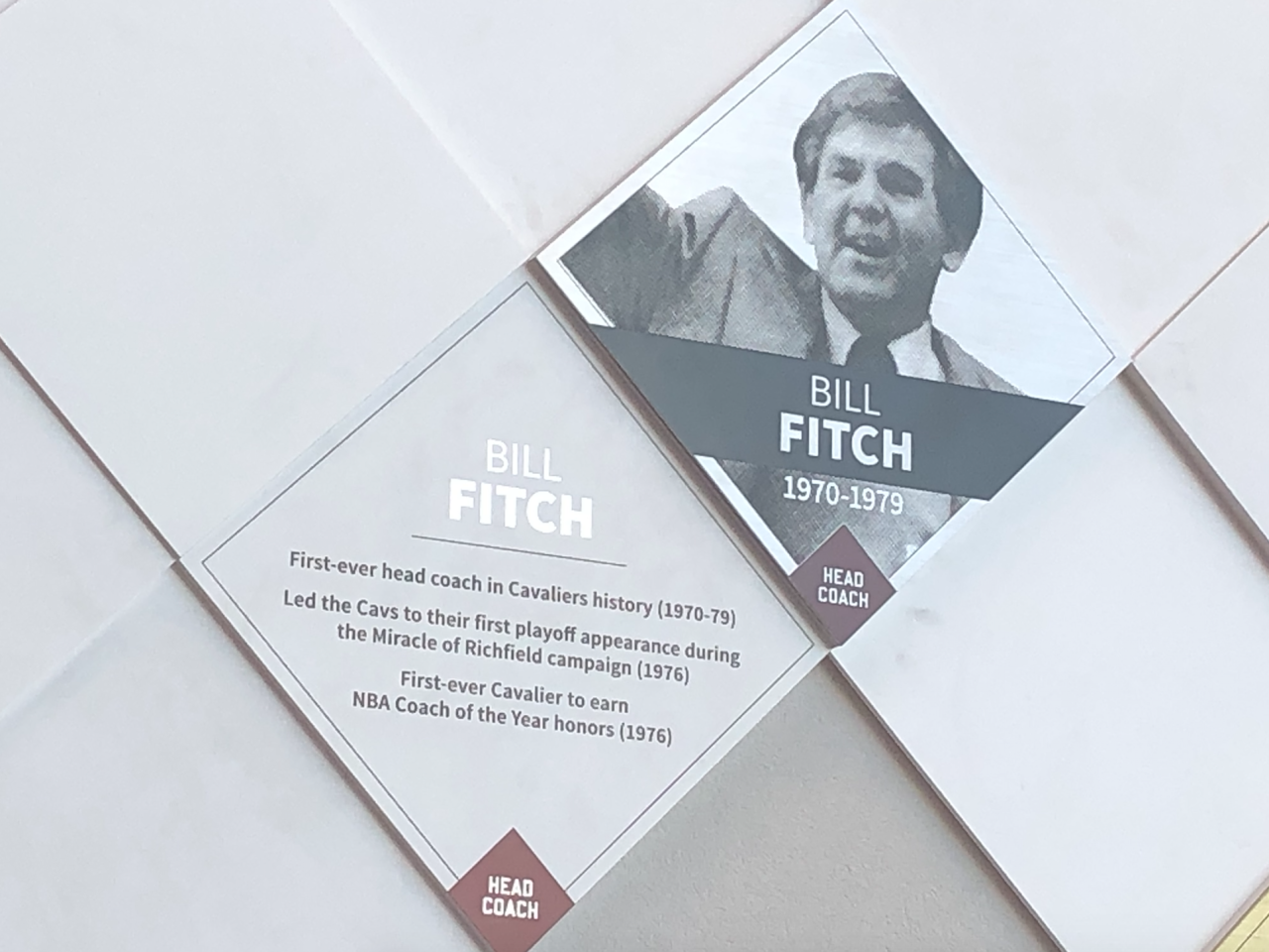 Bill Fitch Wall of Fame
