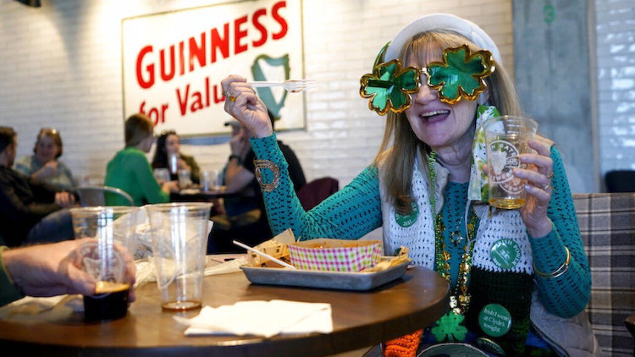 Virus Outbreak St Patricks Day Celebrations