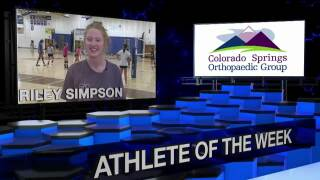 KOAA Athlete of the Week: Riley Simpson, Rampart Volleyball