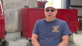 Vaughn VFD Assistant Chief Kenneth Hanks