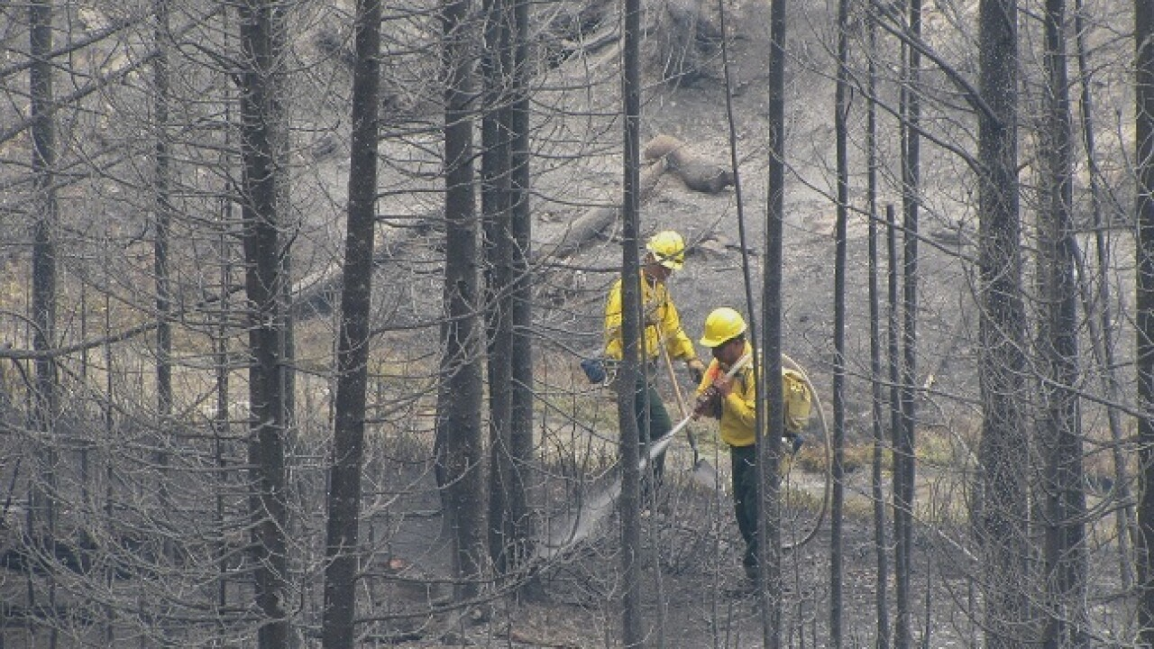 Fontenelle Fire in Wyoming 45 percent contained