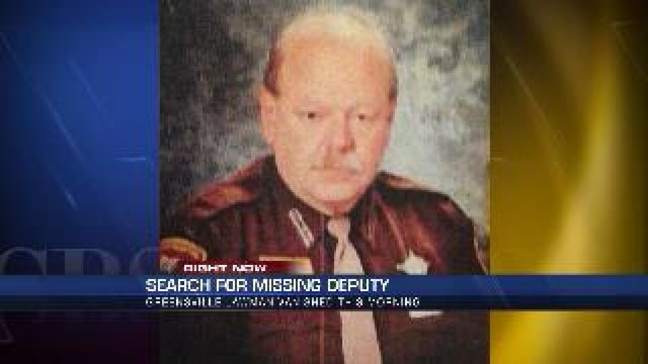 Search underway for missing Greensville County deputy