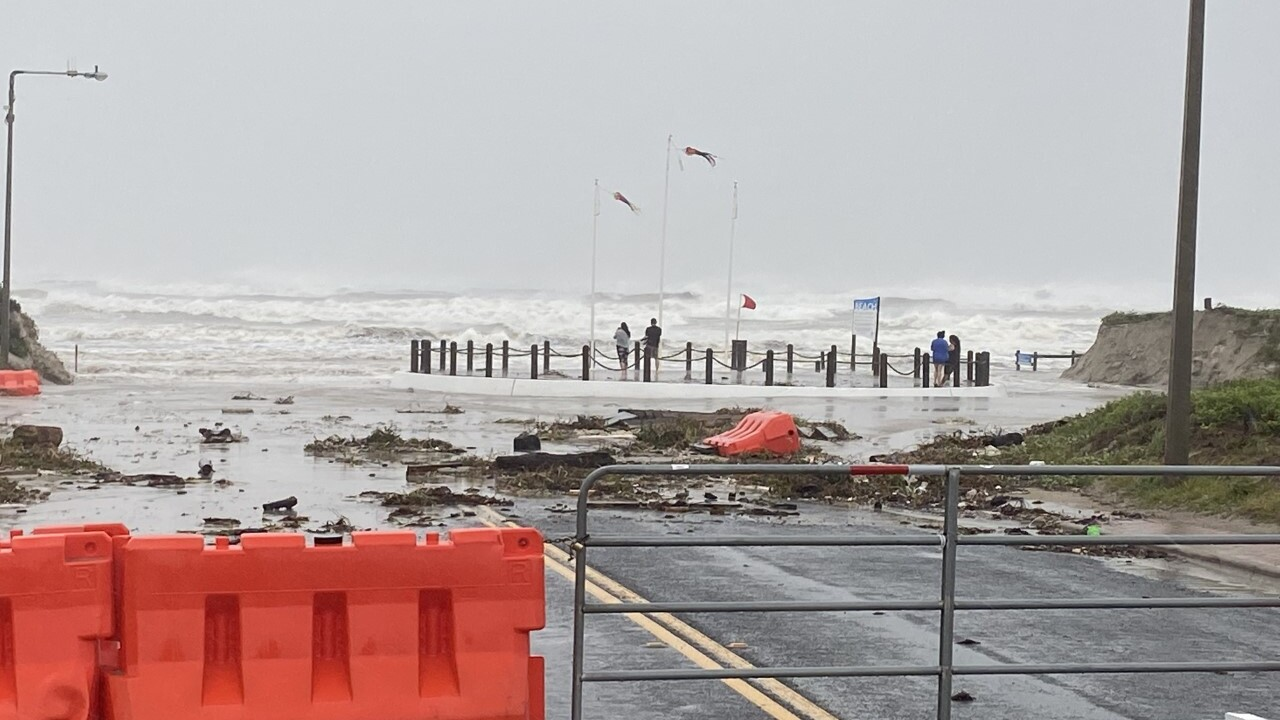 Beaches suffered the most damage from Hurricane Hanna