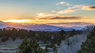 Sunset from Westcliffe