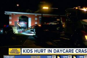 Infant and two toddlers airlifted to hospital after SUV smashes into home daycare in Lakeland