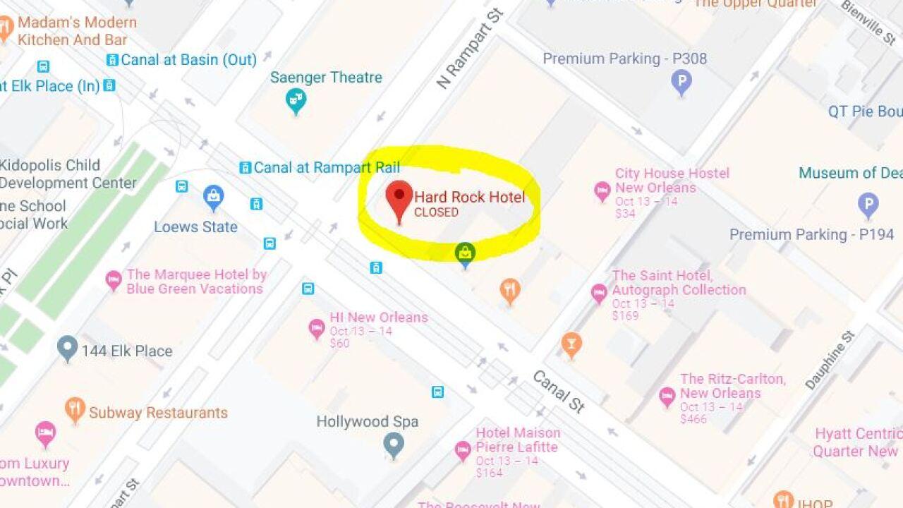 location of hard rock hotel.JPG