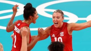 U.S. women rebound in five sets to top Turkey