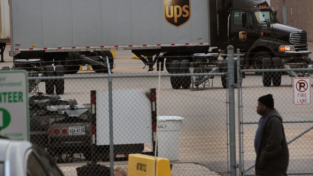 Two men broke into a UPS facility in Tennessee and stole 400 guns, police say