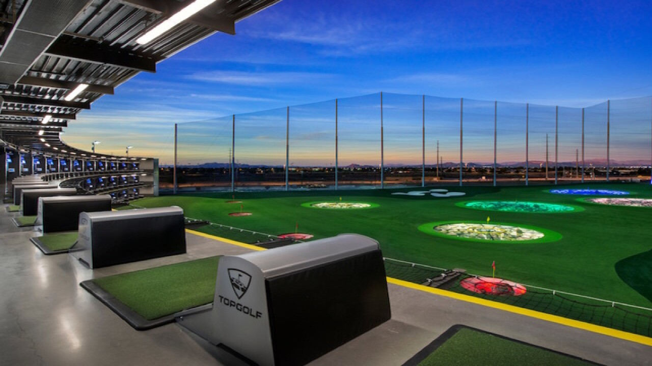 Topgolf opening third location in Valley