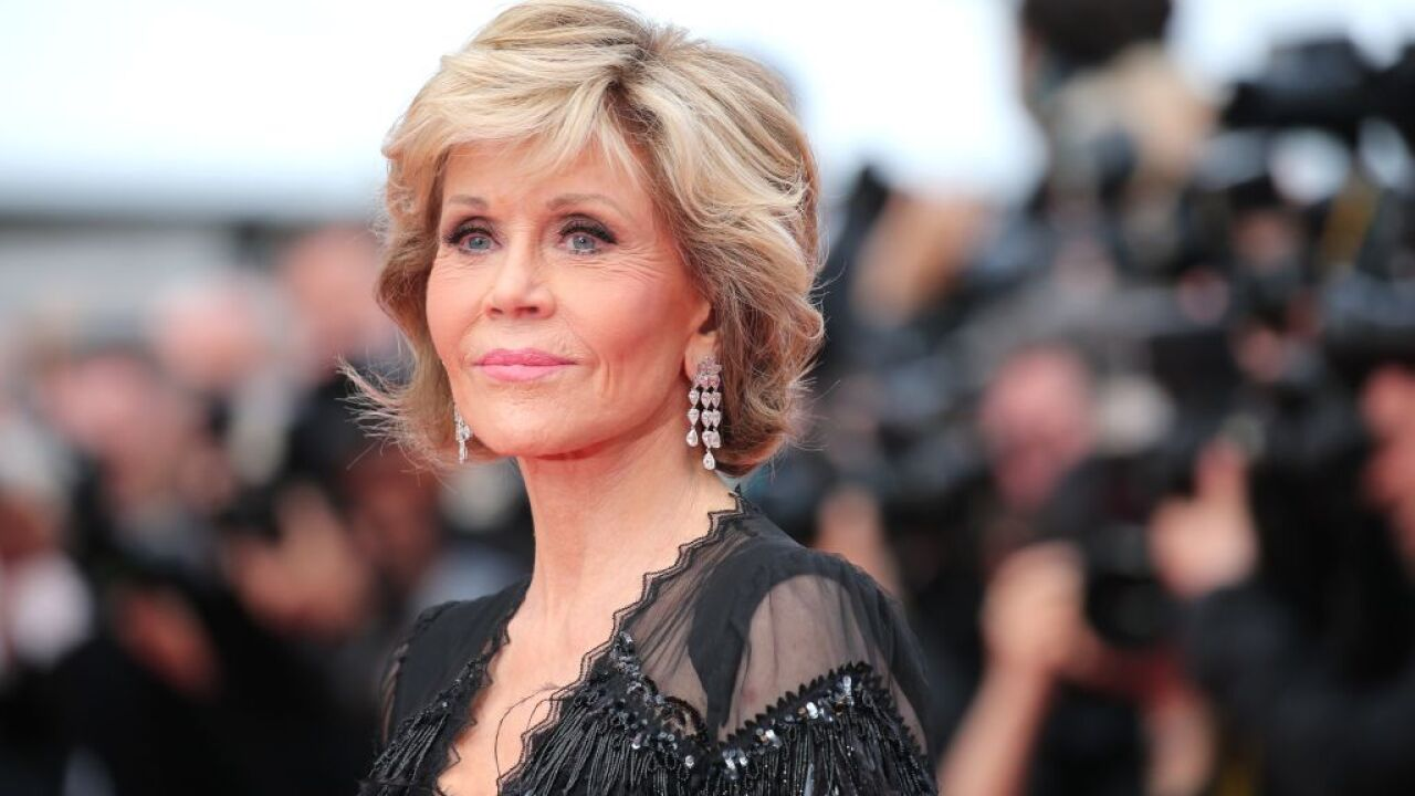 Jane Fonda taken into custody at climate crisis protest in Washington