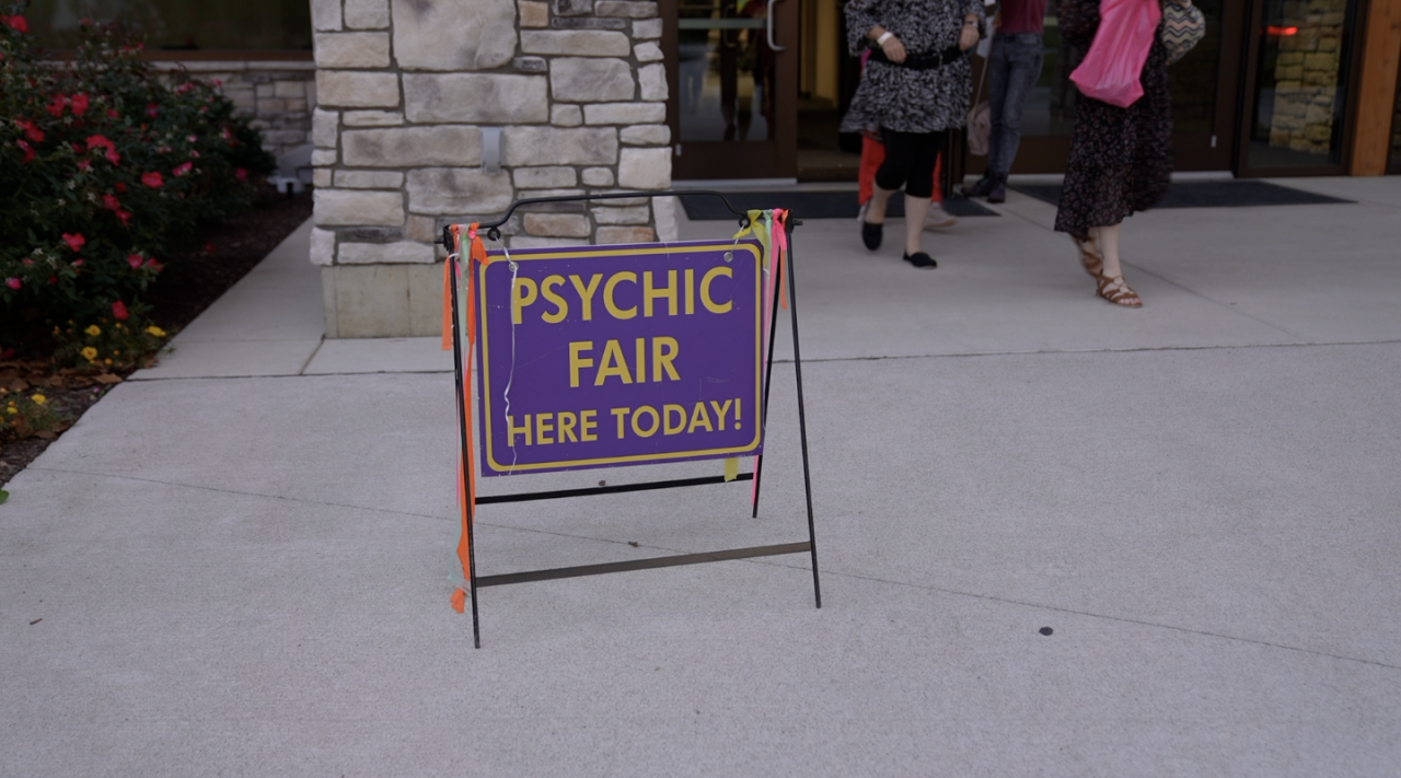 Psychic Fair Here Today!