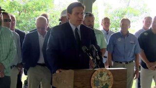 Gov. Ron DeSantis news conference in Fort Myers on May 12, 2021