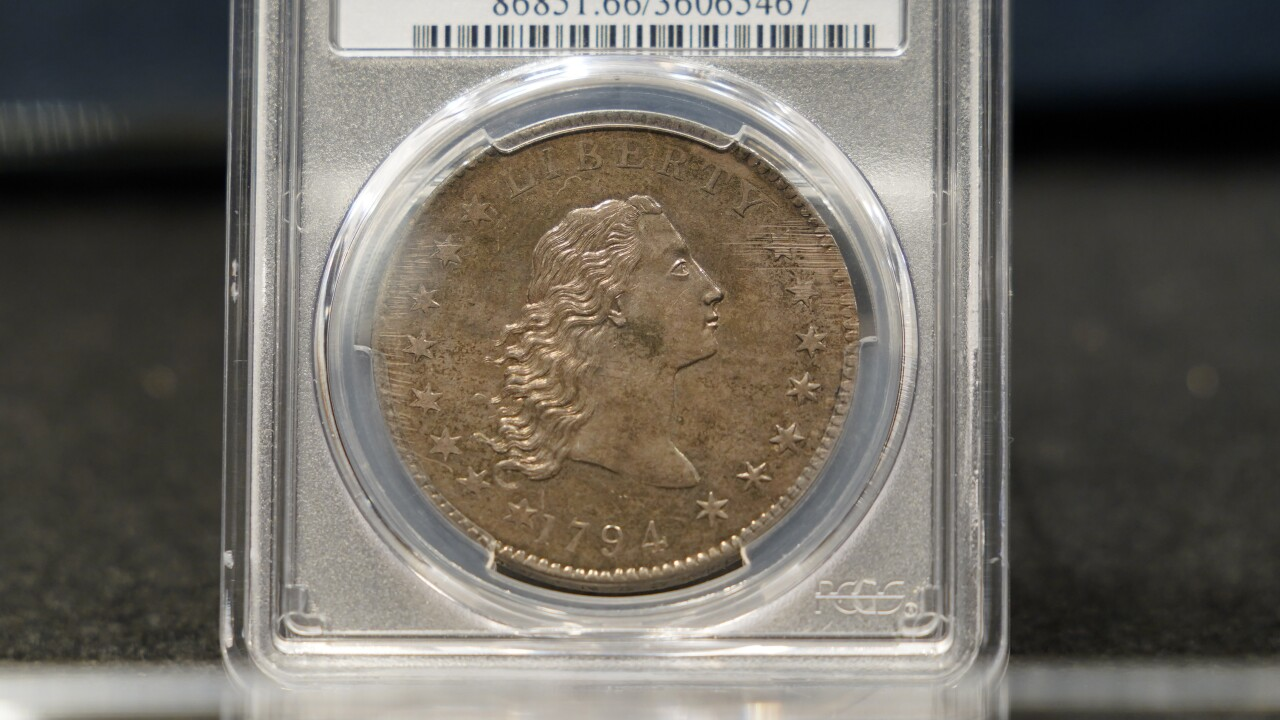 Early Silver Dollar Auction