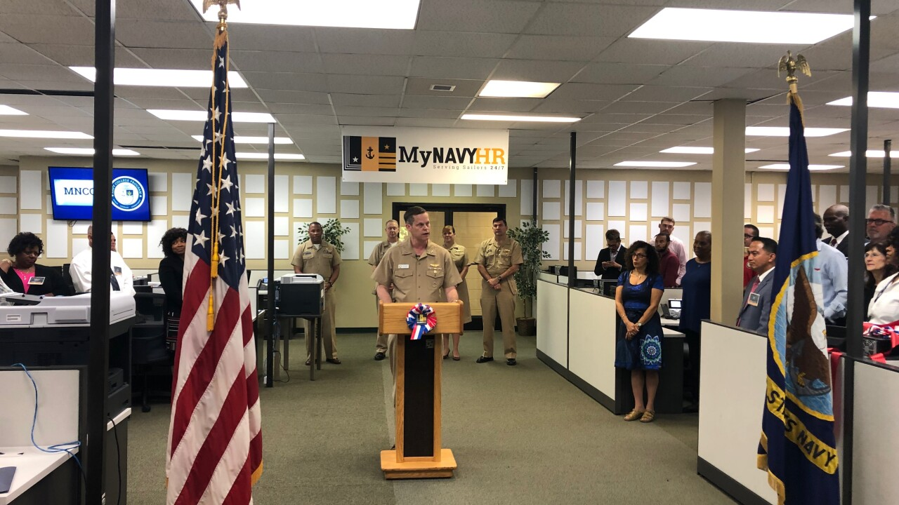In with the new: MyNavy Career Center opens in Virginia Beach