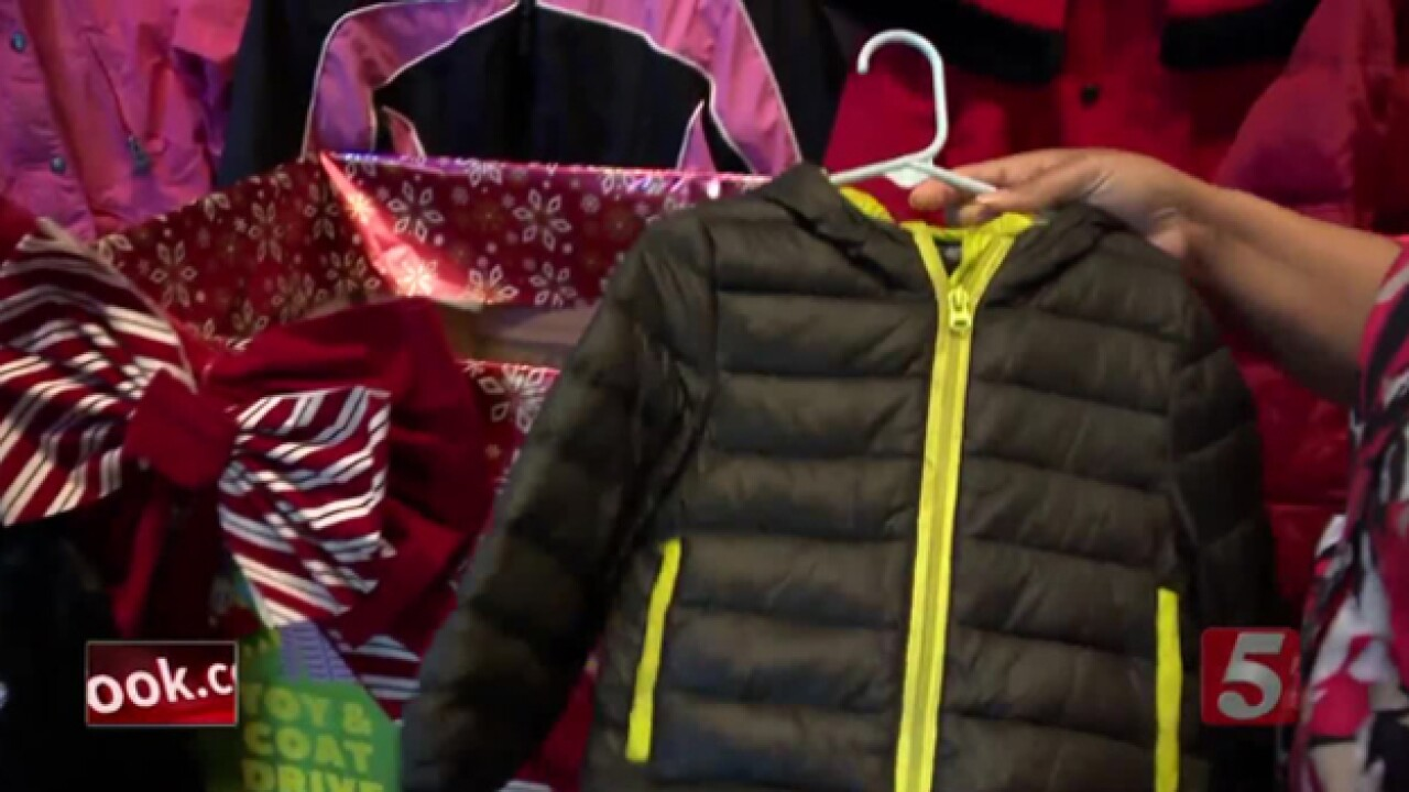 School Patrol: Coat drive gives warmth to foster kids
