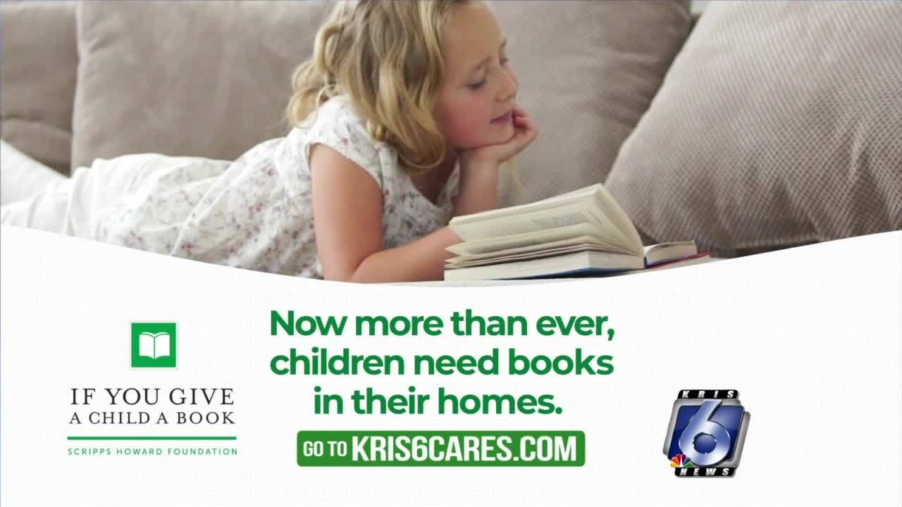 """If You Give a Child a Book"" aims to provide books to disadvantaged kids"